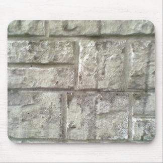 Grey Brickwall Mouse Pad