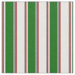 [ Thumbnail: Grey, Brown, Mint Cream, Dark Green, and Dark Gray Fabric ]