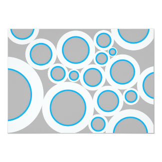Grey Bubbles Card