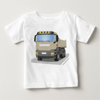 grey building sites truck baby T-Shirt
