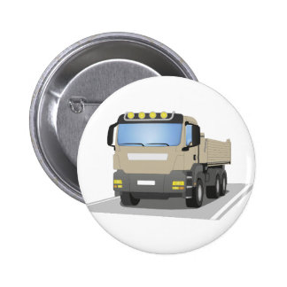 grey building sites truck button