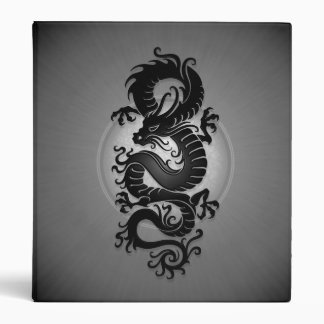 Grey Burst Chinese Dragon Binders