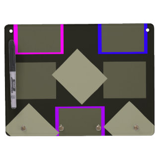 Grey Business Home Do It All Dry Erase Board