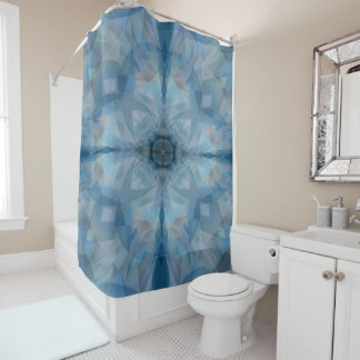 Abstract Butterfly Shower Curtains | Zazzle