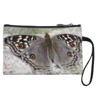 Grey Butterfly Colour Image - Mini Clutch