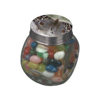 Grey Butterfly Image - Jelly Belly Glass Jar