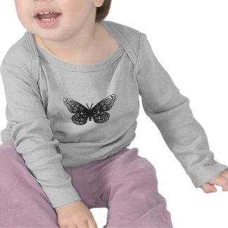 Grey Butterfly Tee Shirt