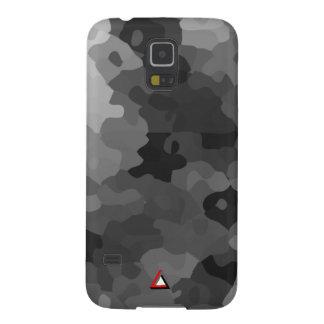 Grey Camo Case For Galaxy S5