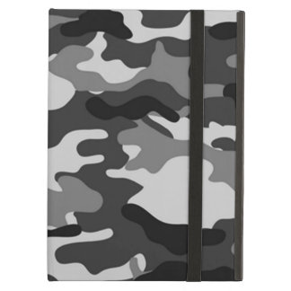 Grey Camouflage Cover For iPad Air