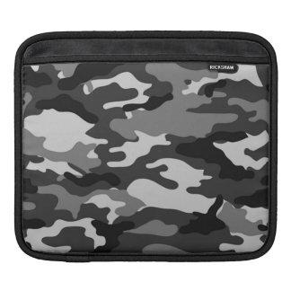 Grey camouflage | iPad Sleeves