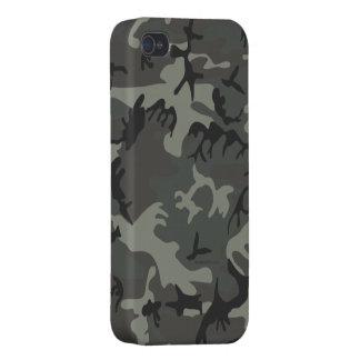 Grey camouflage iPhone 4 Case