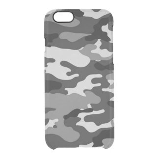 Grey camouflage iPhone 6 Deflector Case