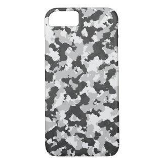 Grey Camouflage iPhone 8/7 Case