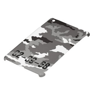Grey Camouflage sample Case For The iPad Mini