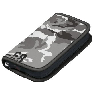 Grey Camouflage sample Folio Planners