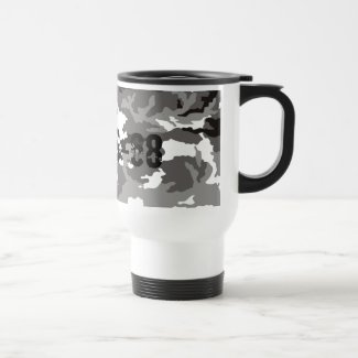 Grey Camouflage sample Mug