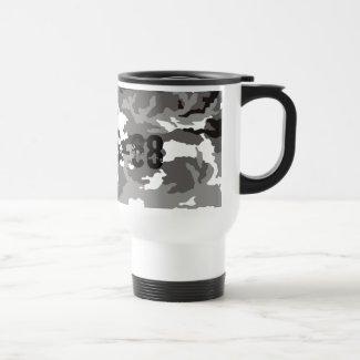 Grey Camouflage sample Mug