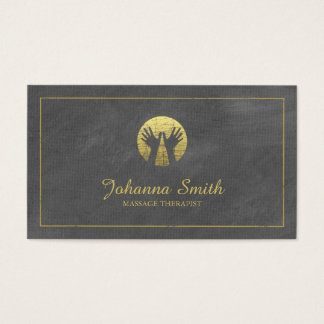 massage therapy business cards templates zazzle