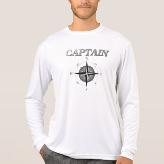 Grey Captain with Compass Rose T-Shirt
