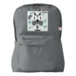 Grey Cat Backpack, Smoke American Apparel™ Backpack