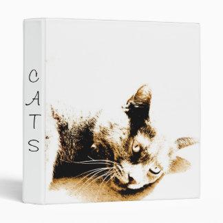 Grey Cat binder