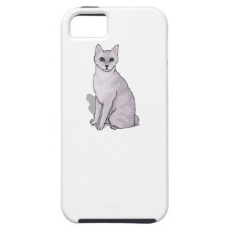 Grey Cat iPhone 5/5S Covers