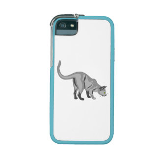Grey Cat Cover For iPhone 5