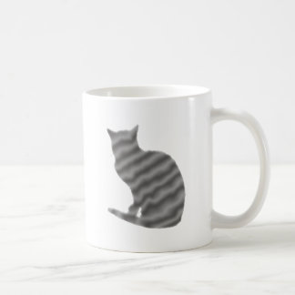 grey cat cat gray grey coffee mug