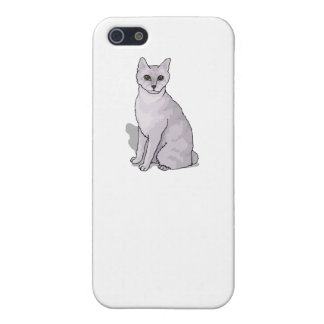 Grey Cat Case For iPhone 5/5S