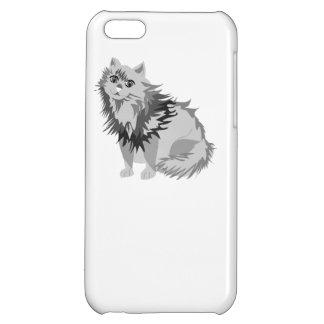Grey Cat iPhone 5C Cases