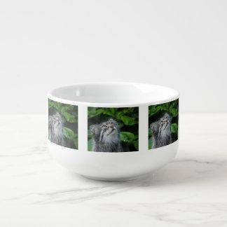 Grey Cat Soup Mug