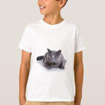 Grey Cat T-Shirt