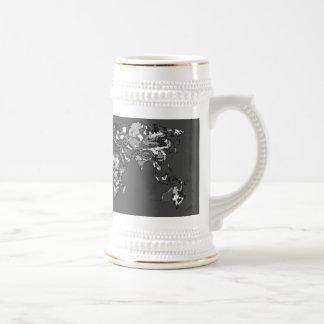 Grey charcoal earth coffee mug