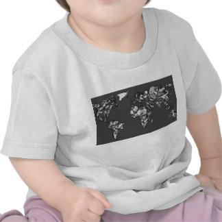 Grey charcoal earth tee shirt