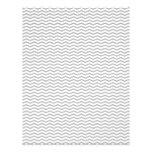 """Grey Chevron/Zig Zag Scrapbook Paper 8.5"""" X 11"""" Flyer"""