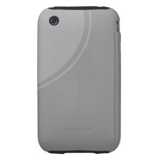 grey circle iPhone 3 tough cover