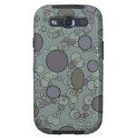 Grey Circles Samsung Galaxy SIII Cases