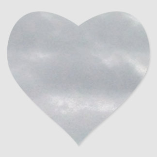 grey clouds above marsh heart sticker