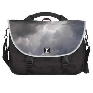Grey Clouds Laptop Bags