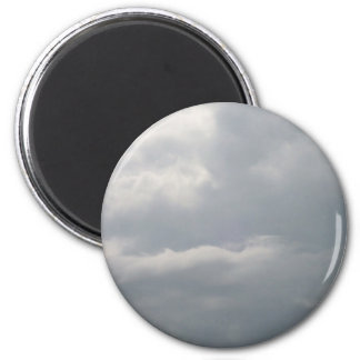 Grey Clouds Magnet