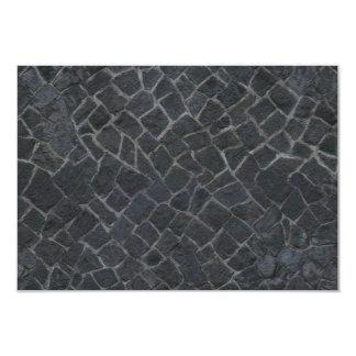 Grey Cobblestone Rock Path Texture Background Card