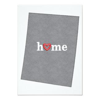 Grey COLORADO Home & Open Heart Card