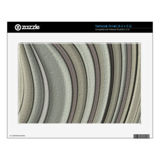 Grey colored line pattern skins for netbooks