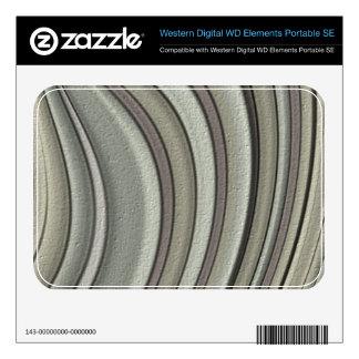 Grey colored line pattern WD elements SE skins