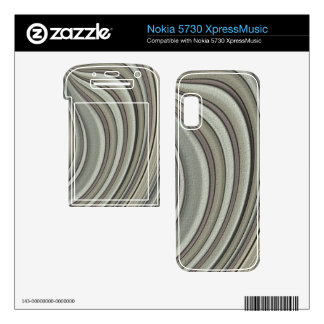 Grey colored line pattern nokia 5730 skin