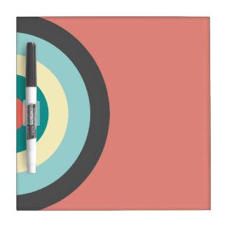Grey Combination Bullseye by Shirley Taylor Dry-Erase Board
