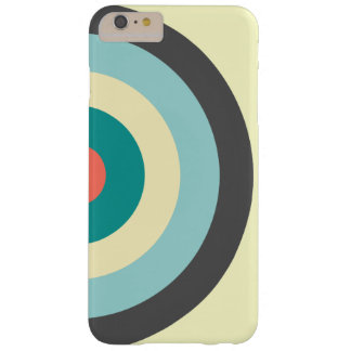 Grey Combination Bullseye Barely There iPhone 6 Plus Case
