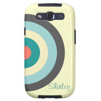 Grey Combination Bullseye Samsung Galaxy S3 Cover