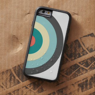 Grey Combination Bullseye Tough Xtreme iPhone 6 Case