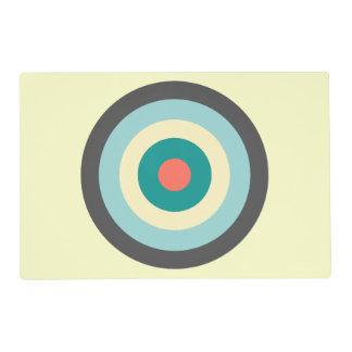Grey Combination Bullseye Placemat